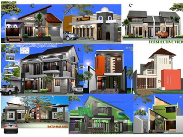 Gambar IMB, Autocad 2D-3D dan Disain rumahm bagus terjangkau