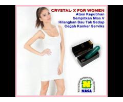 Crystal X Asli Nasa untuk Kesehatan Organ Kewanitaan