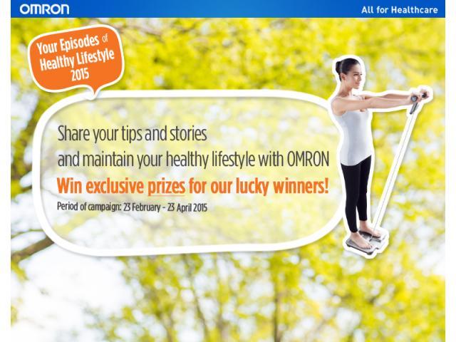 Kontes Healthy Diet Story Berhadiah Spesial dari Omron